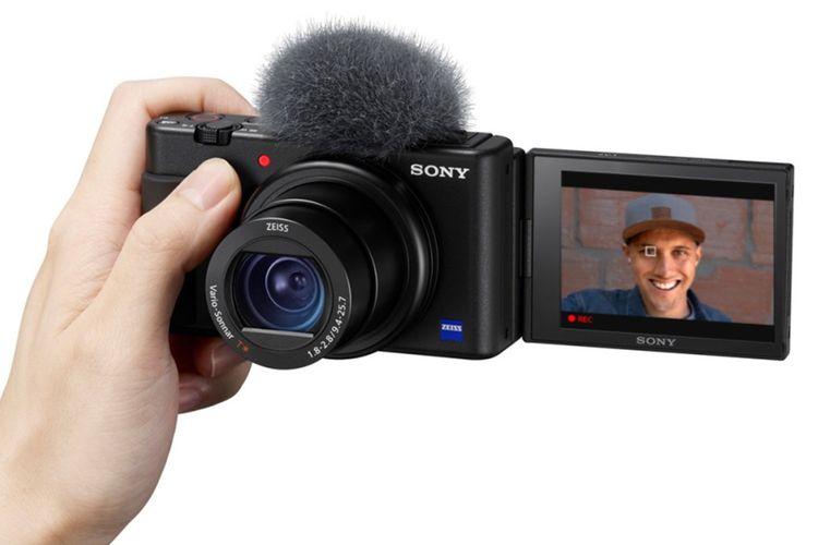 Kamera Saku ZV-1 Keluaran dari Sony Resmi diluncurkan